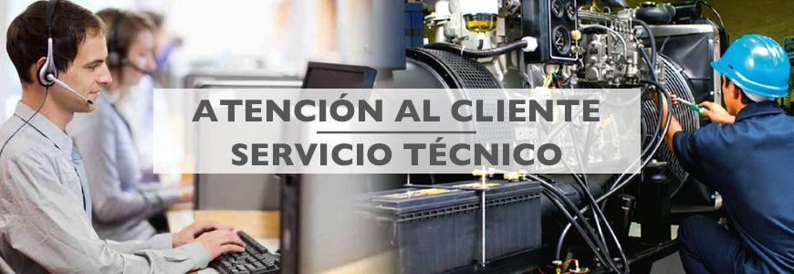 atencion al cliente y servicio técnico grupos electrogenos