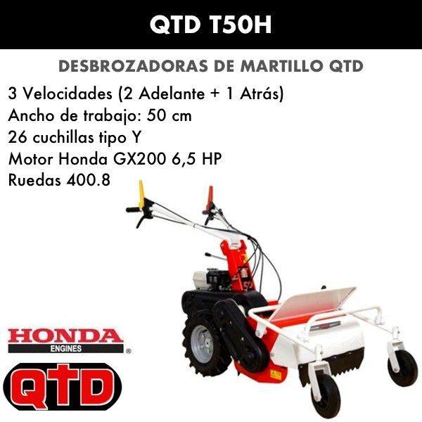 Desbrozadora de martillo QTD T50H