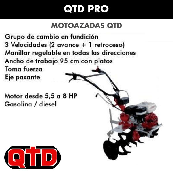 Motoazada QTD PRO