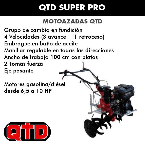 Motoazada QTD Super pro