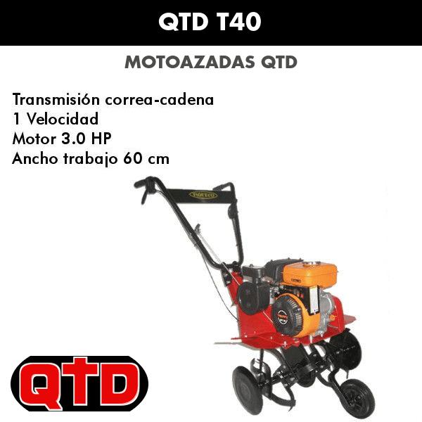Motoazadas QTD T40
