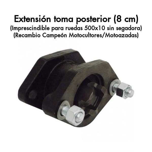 Extensión toma posterior (8 cm)