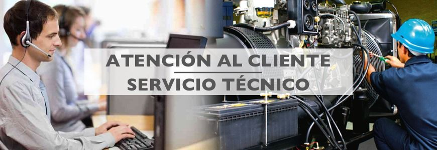 atencion al cliente y servicio técnico Cortasetos
