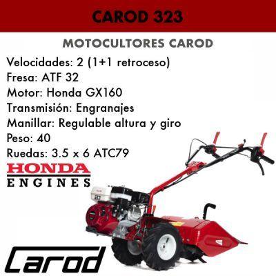Motocultor Carod 323 MC 606