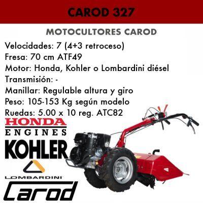 Motocultor Carod 327