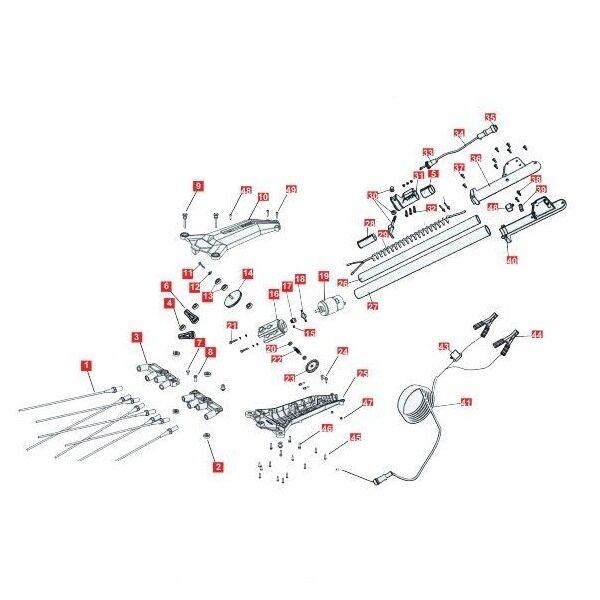 Accesorios cabezal vareadora de aceitunas BJR Zlome 07