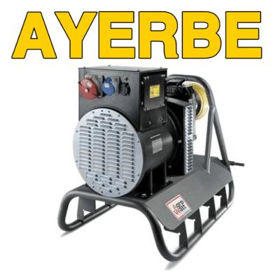 Generadores eléctricos toma fuerza tractor Ayerbe