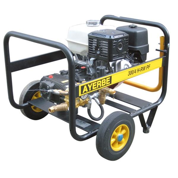 Hidrolimpiadora Ayerbe AY 300/4 RW PF motor HONDA GX-390