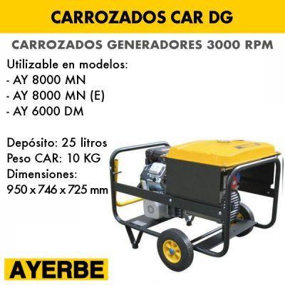 Carrozados para generadores 3000 rpm Ayerbe CAR DG
