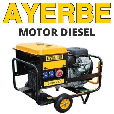Generadores eléctricos Ayerbe Diesel