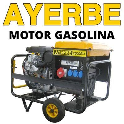 Generadores Eléctricos Ayerbe Gasolina