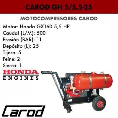 Motocompresor Carod GH 5/5.5-25