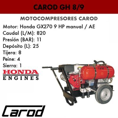 Motocompresor Carod GH 8/9