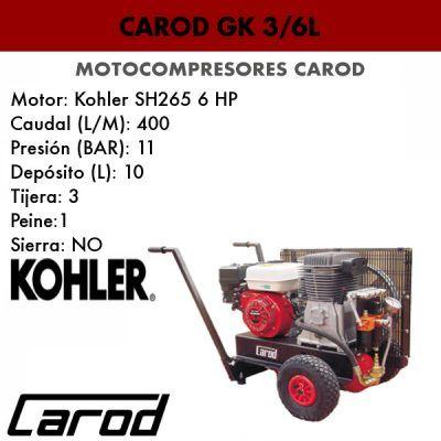 Motocompresor Carod GK 3/6L