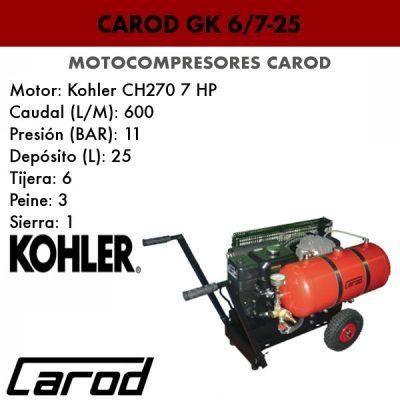 Motocompresor Carod Gk 6/7-25