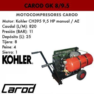 Motocompresor Carod GK 8/9,5 portada