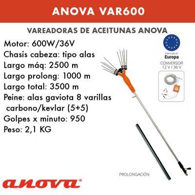 Vareadores de aceitunas Anova VAR600