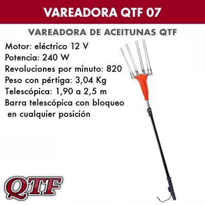 Vareadora de aceitunas QTF 07