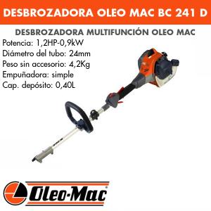 Desbrozadora multifunción Oleo Mac BC241D
