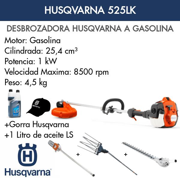 Desbrozadora Multifunción Husqvarna 525