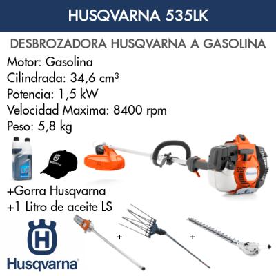 Desbrozadora Multifunción Husqvarna 535LK