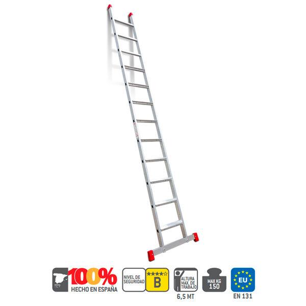 Escalera industrial de aluminio Faraone EN100