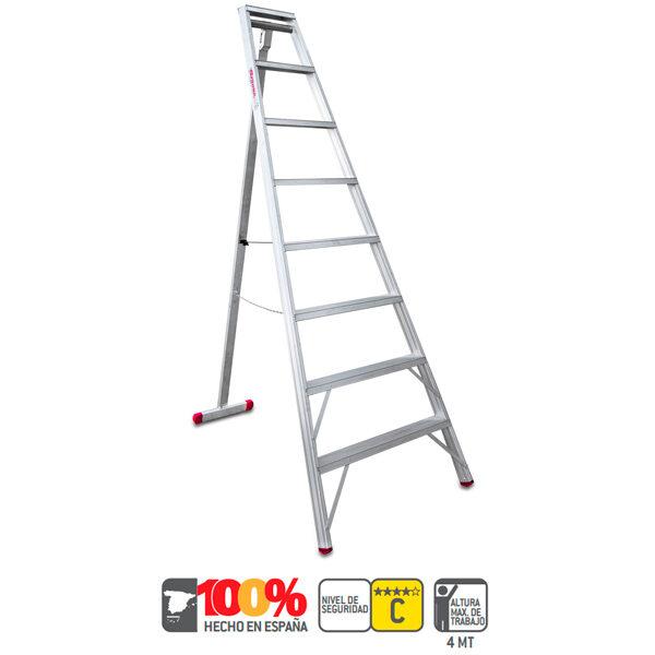 Escalera industrial de aluminio Faraone T700