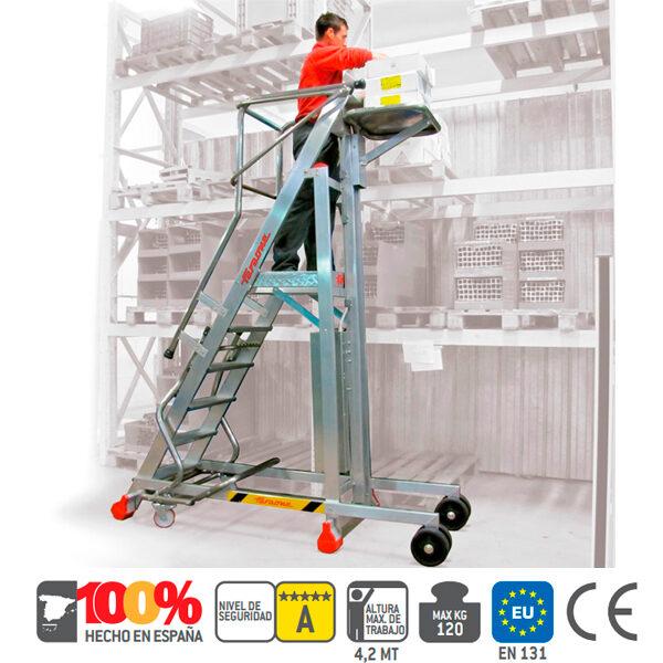 Escaleras de aluminio Faraone PICK