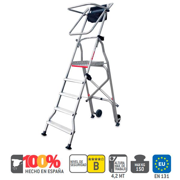 Escaleras de aluminio Faraone PL