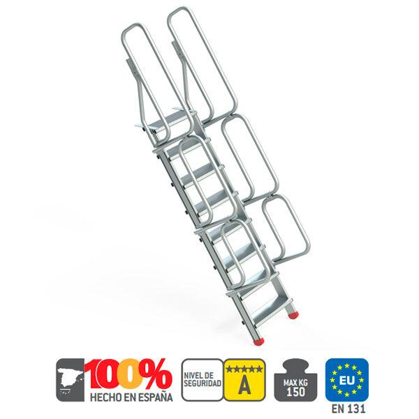 Escaleras de aluminio Faraone SG 60