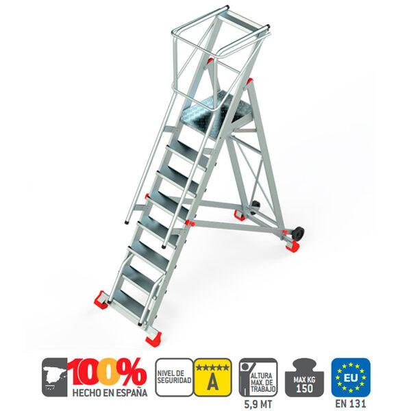 Escaleras de aluminio Faraone SMT