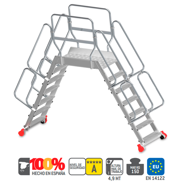 Escaleras de aluminio Faraone SP 60