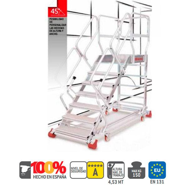 Escaleras de aluminio Faraone SY45