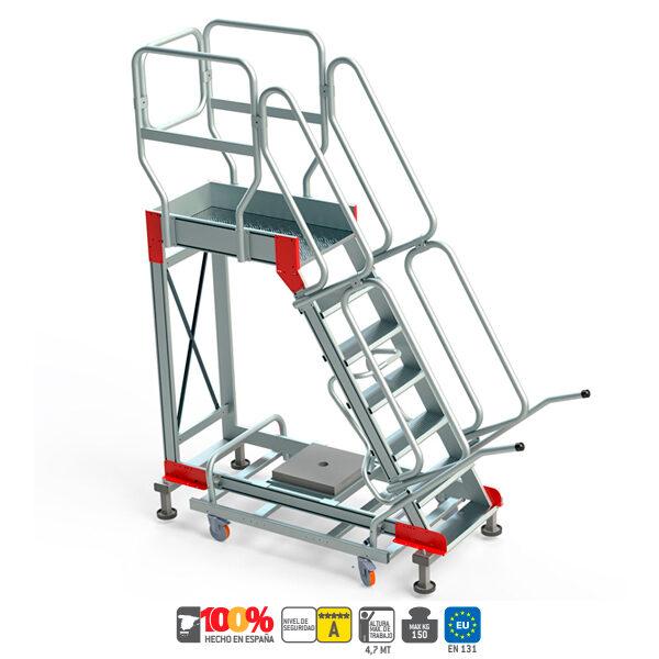 Escaleras de aluminio Faraone SY60