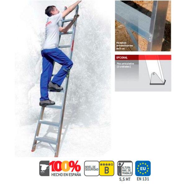 Escaleras de aluminio Faraone T600