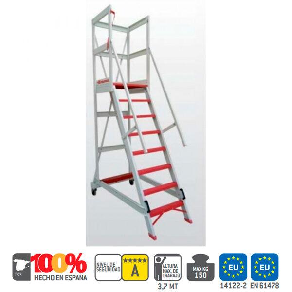 Escaleras industrial de fibra vidro Faraone ALFI