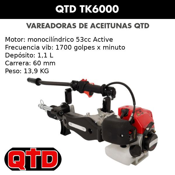 Vareadora QTD TK6000