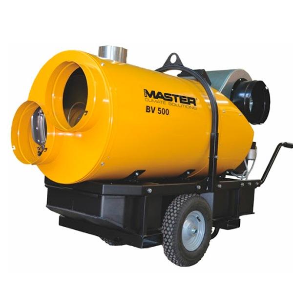 calentador de combustion indirecta de gasóleo master BV 500 CR