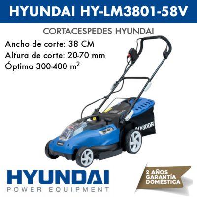 Cortacésped Hyundai HY-LM3801-58V