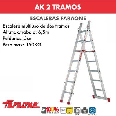 Escaleras de aluminio Faraone AK2