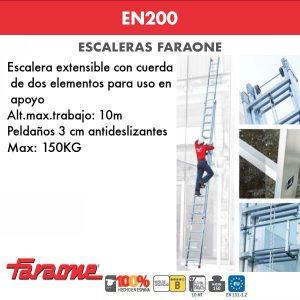 Escaleras de aluminio Faraone EN200