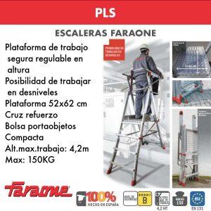 Escaleras de aluminio Faraone PLS