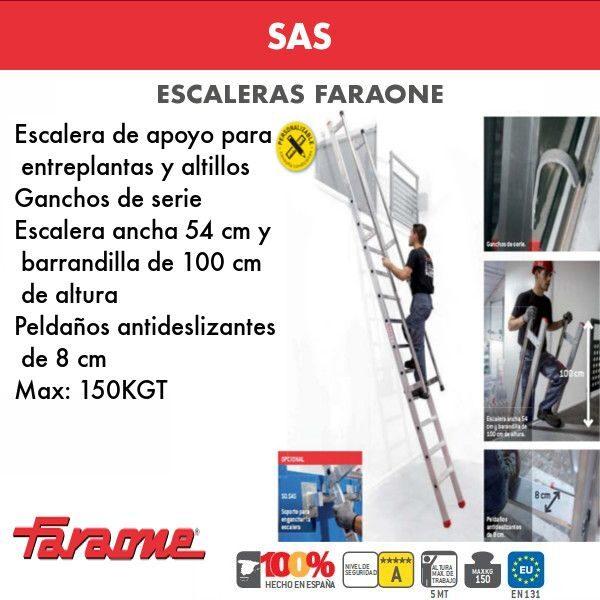 Escaleras de aluminio Faraone SAS