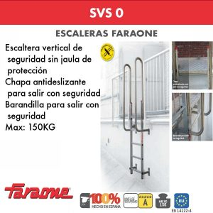 Escaleras de aluminio Faraone SVS 0