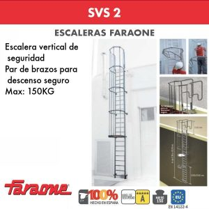 Escaleras de aluminio Faraone SVS 2