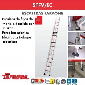 Escaleras de fibra vidrio Farone 2TFV/EC
