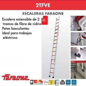 Escaleras de fibra vidrio Faraone 2TFVE