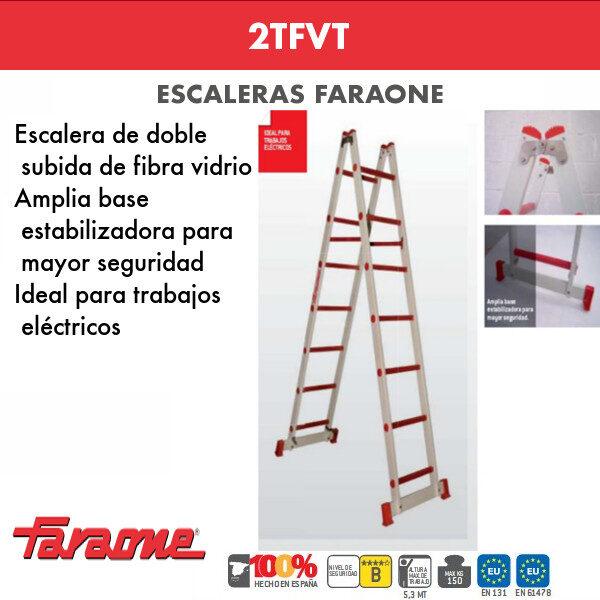 Escalera de fibra vidrio Faraone 2TFVT