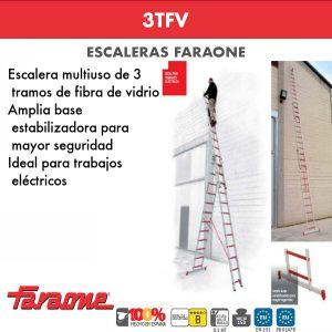 Escaleras de fibra vidrio Faraone 3TFV