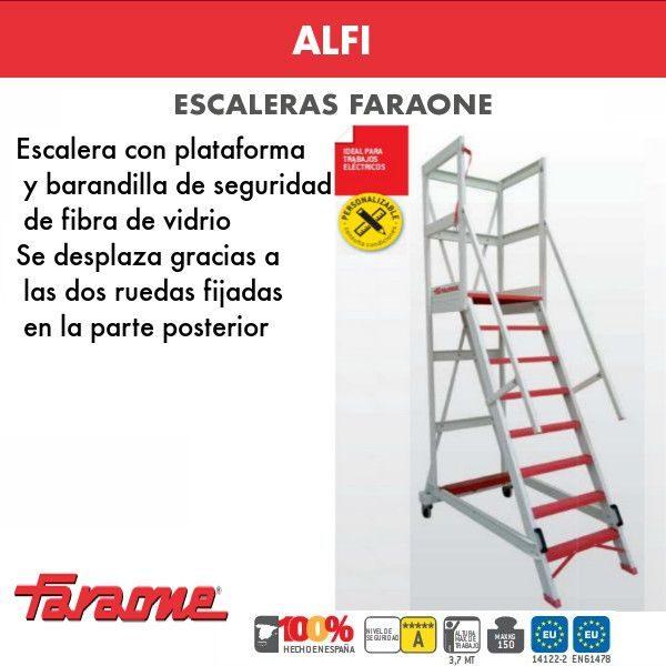 Escaleras de fibra vidrio Faraone Alfi